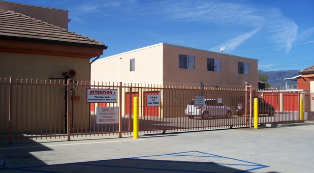 Secure and professional self storage