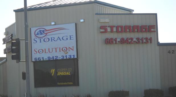 Storage Solution in Lancaster, CA