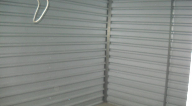 Clean and secure self storage facility.