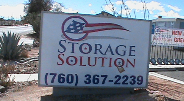 Storage Solution is ready to help you store your belongins.