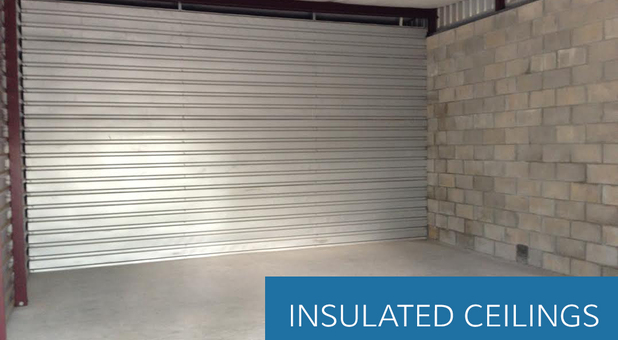 Storage Unit Insulated Ceilings