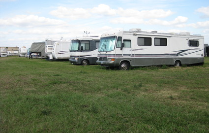 Secure RV Parking