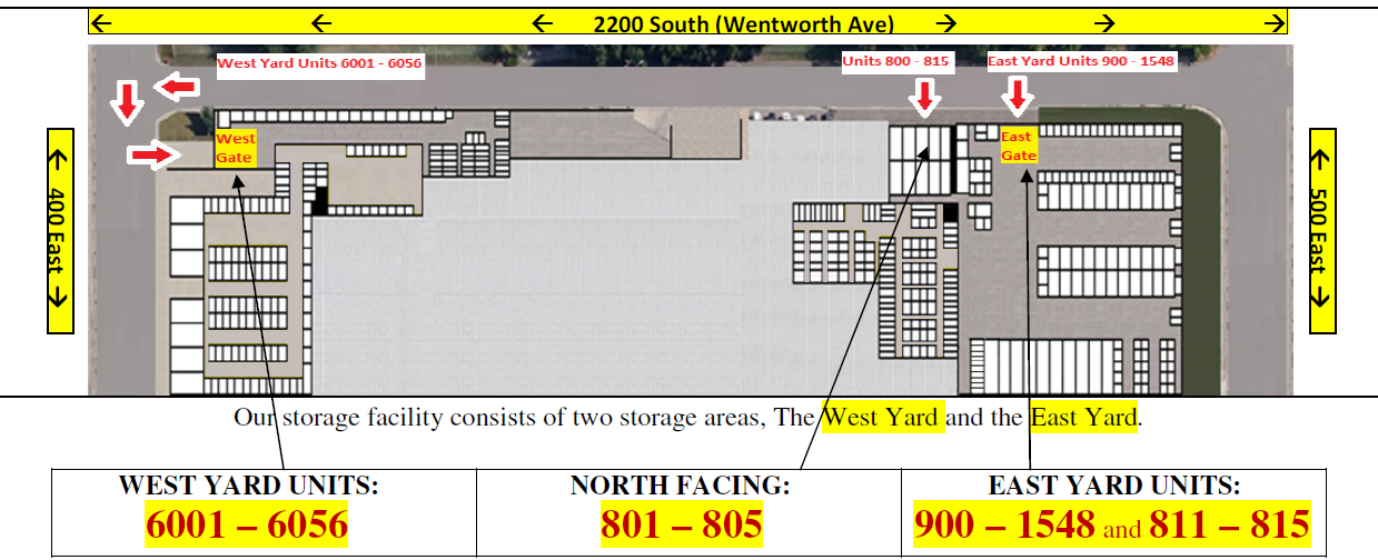 Attrayant Download A Printable Version Of The Storage Facility Map