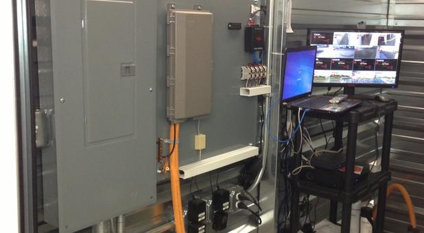 Auto lighting system and video surveillance