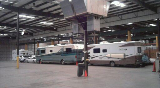 Power RV Storage