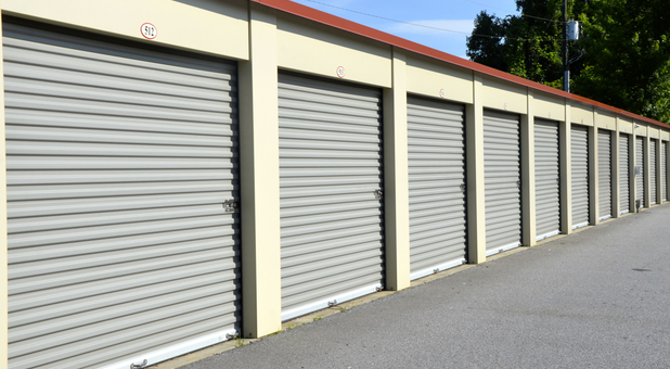 Easy access drive up storage units