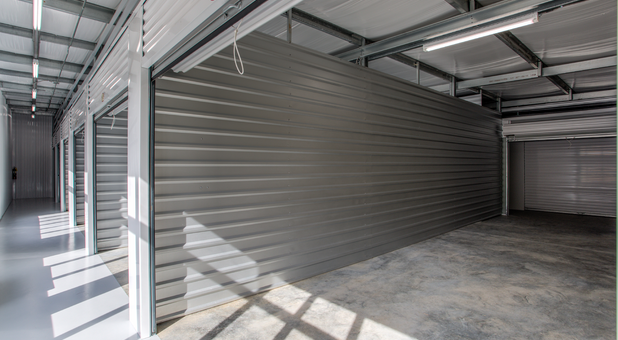 Clean, big, and safe indoor storage units