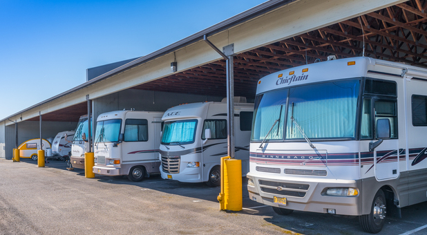 Covered RV storage in Hillsboro, OR