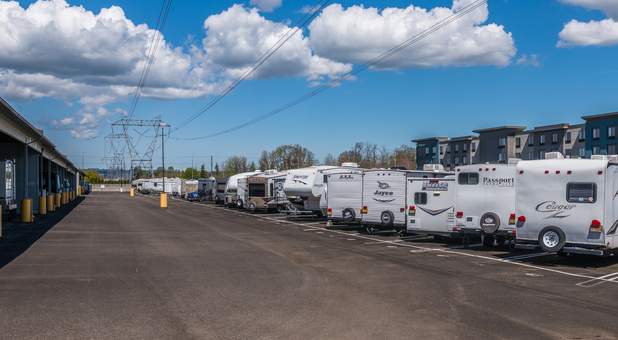 Hillsboro, OR Uncovered RV & Boat Storage