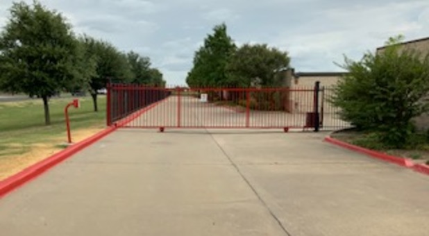 Secure and Gated Storage Facility