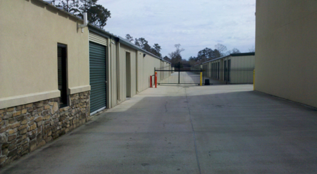 Gated Self Storage Facility