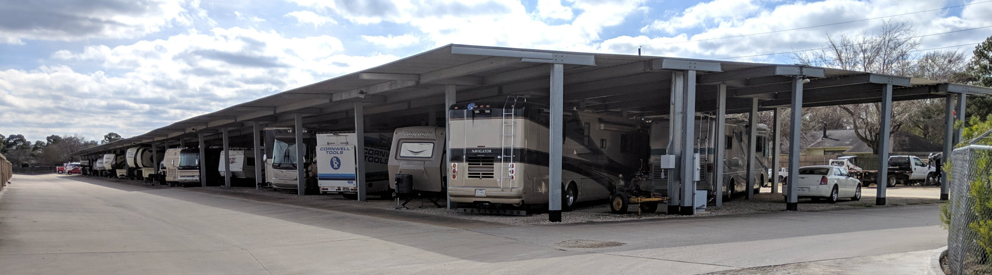 Boat and RV Storage in Spring Texas