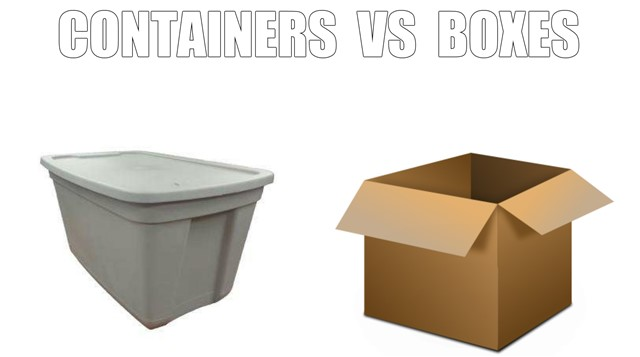 Containers Vs Boxes