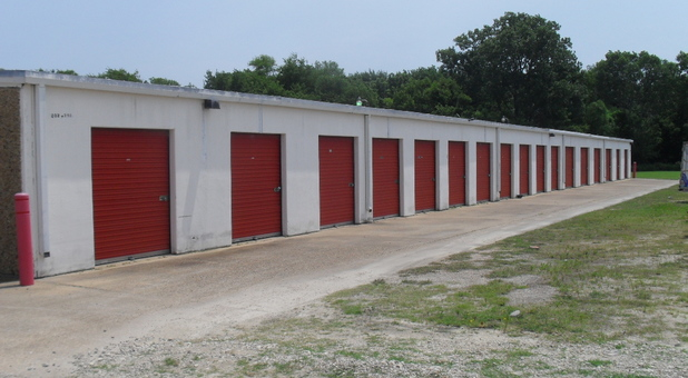 Self-storage units in various sizes!