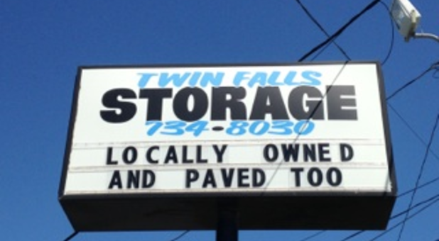 Locally owned and paved too