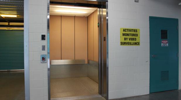 Large Modern Elevators