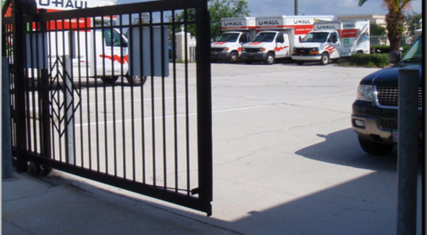 Seperate Gates for Access and Security