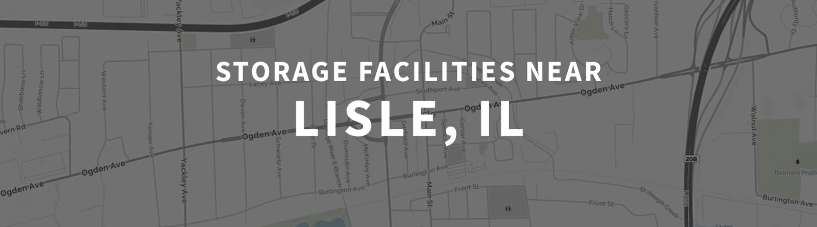 4 Storage Facilities Near Lisle, IL