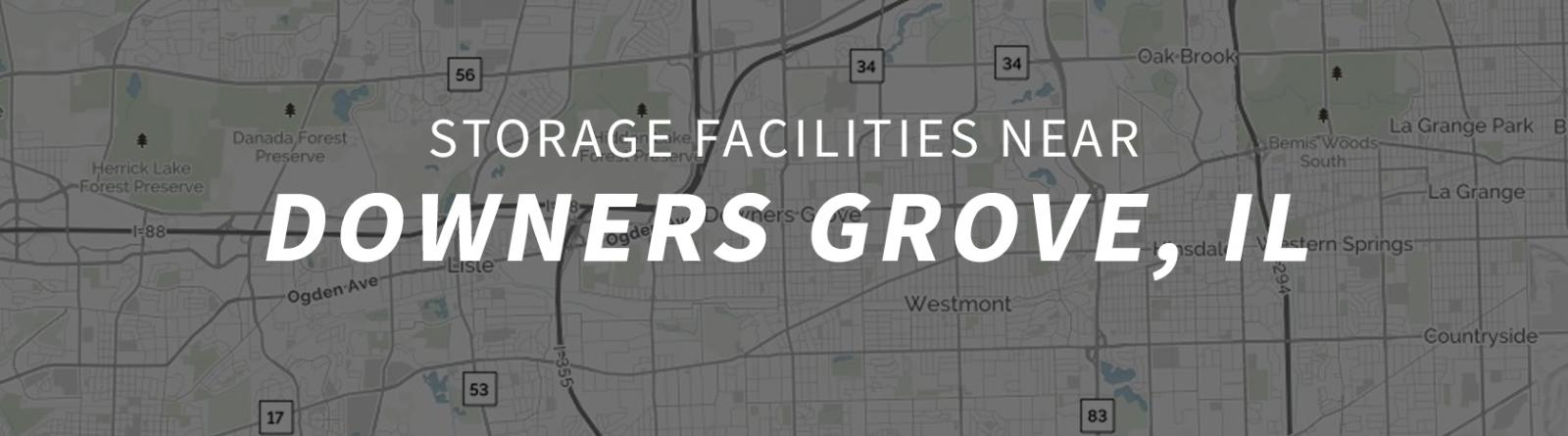 Genial 4 Storage Facilities Near Downers Grove, IL