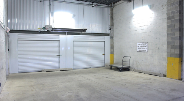 U-Stor-It  Self Storage Carol Stream Wheaton, IL Inside Loading Docks