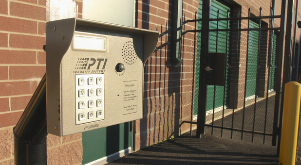 U-Stor-It Self Storage Streamwood, IL Security Keypad and Gate