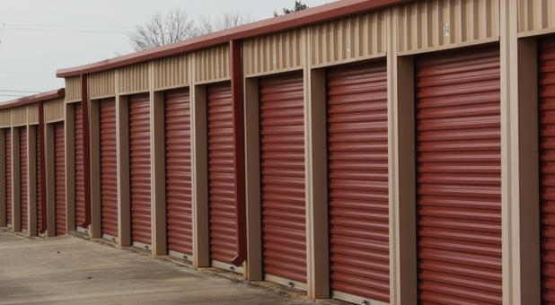 Wide Driveways at storage facility