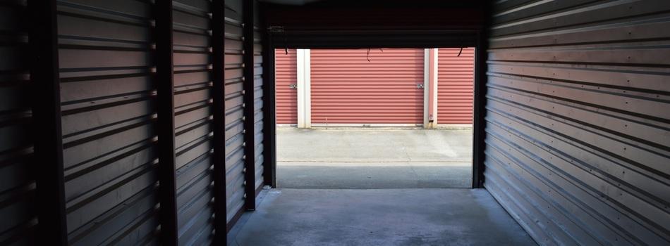 Inside of dry storage