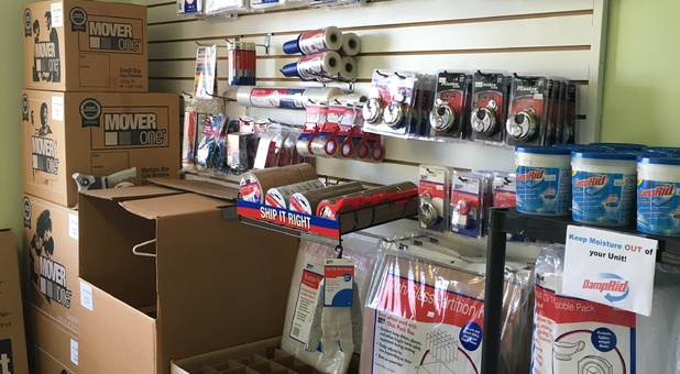 Packaging & Moving Supplies available at U-Store Brighton, MI