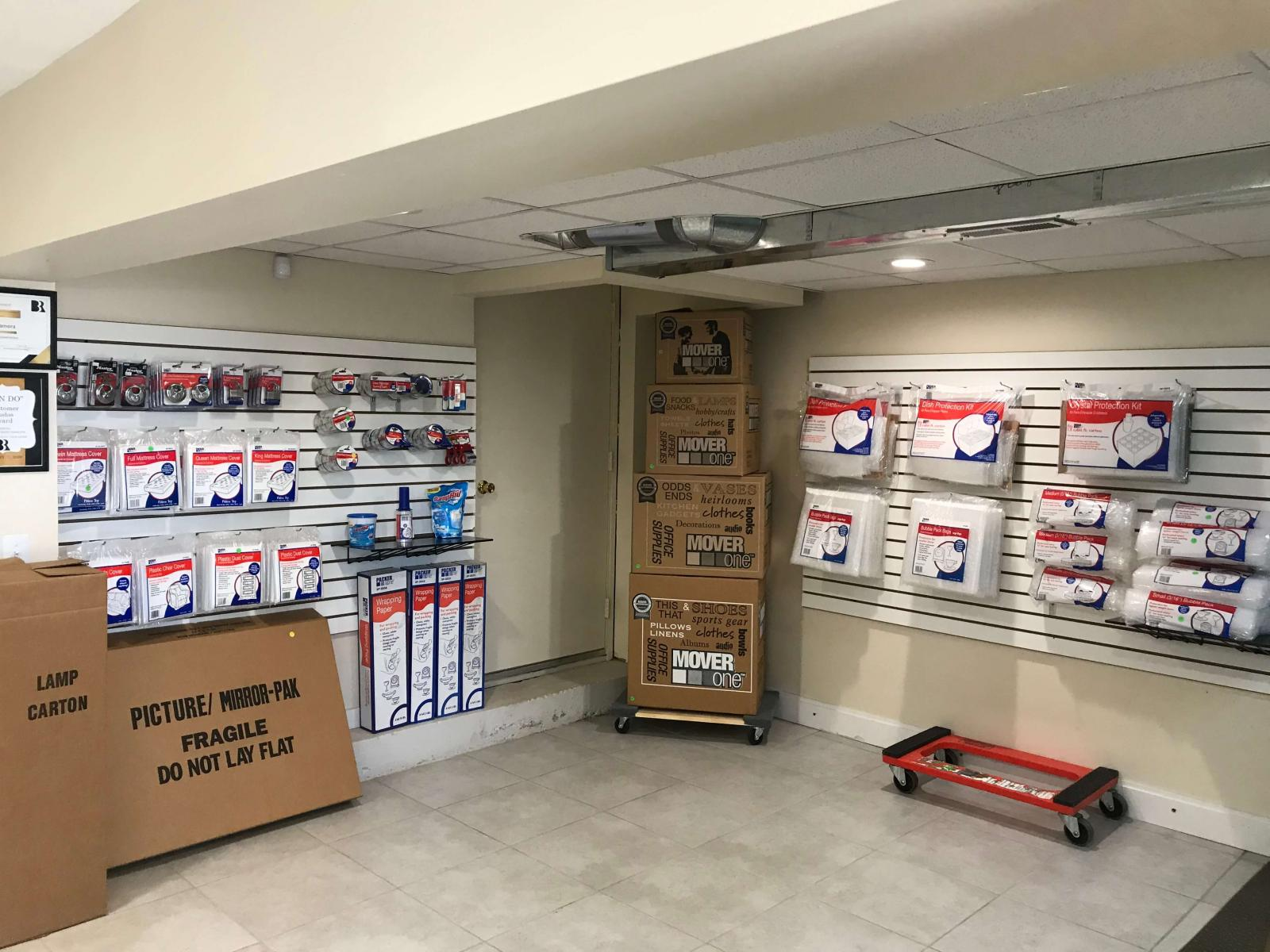 U-Store MI Self Storage Holly West Boxes & Packing Supplies Available