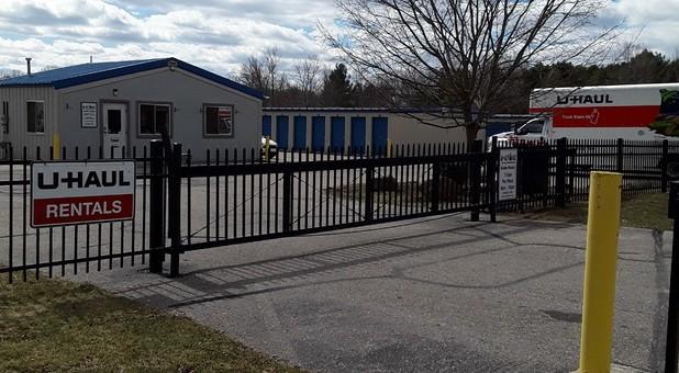 Gated & Secure at U-Store Davison, MI