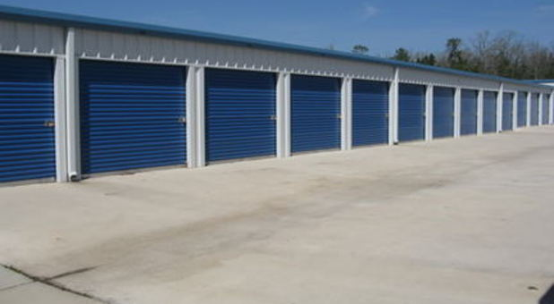 Non-climate control self storage units