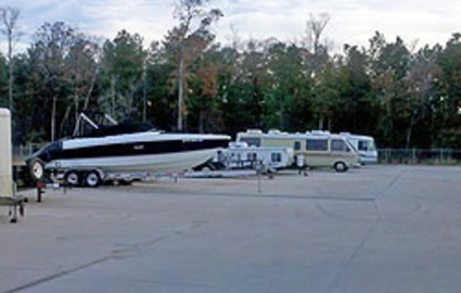 RV, car, boat parking