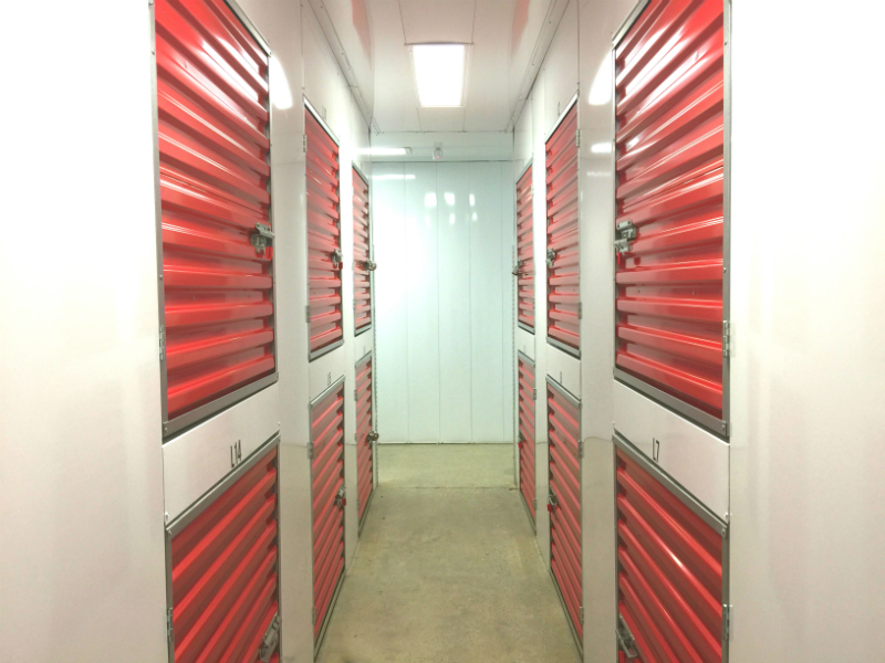 Little Rock storage lockers
