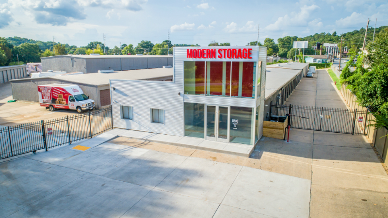 Modern Storage World renovations