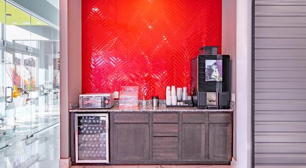 Modern Storage Coffee Bar