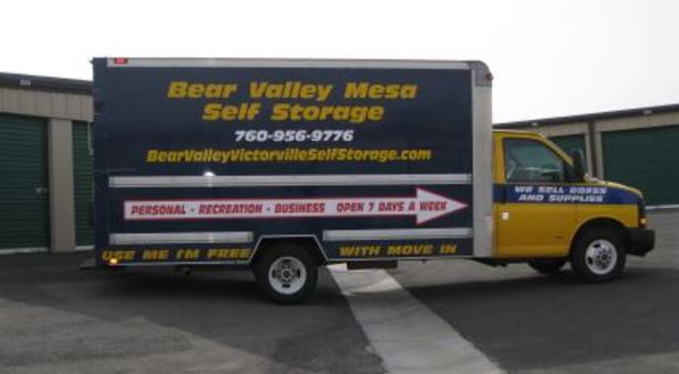 ... Moving Truck ... & Victorville CA Self Storage Units | Bear Valley Self Storage