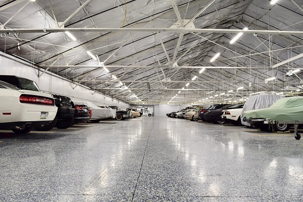 Vehicles Stored Indoor